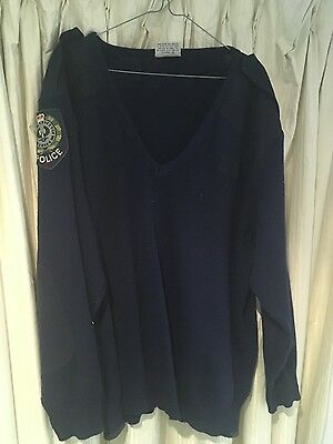 Police Dress jumper SAPOL 1980 's old patches