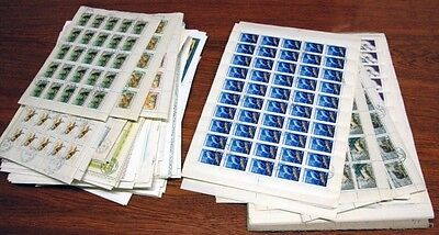 USSR 1961-1991/ FAUNA in 250 CTO FULL SHEETS