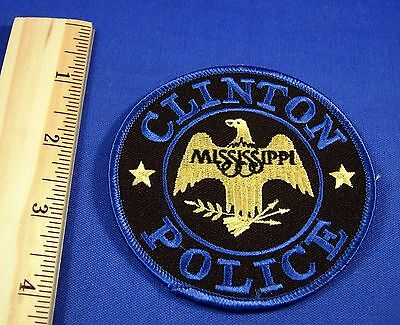 Clinton Mississippi Police Patch