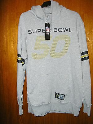 NFL American Football Hoody size XXL 46/48 Brand New with Tags Superbowl 50