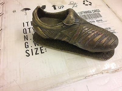 Brass Football Boot Orniment