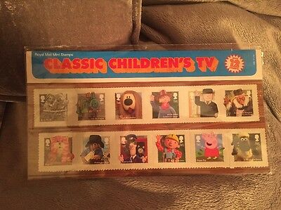 Classic Childrens Tv Royal Mint Stamps
