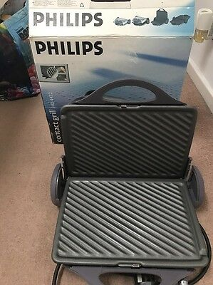 Philips Contact Grill HD 4433 Used Once Only