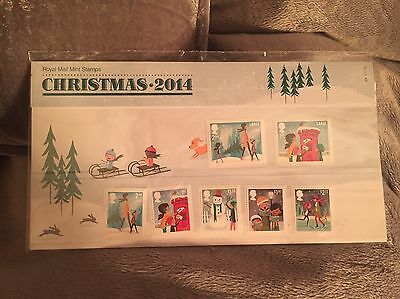 Christmas 2014 Royal Mail Mint Stamps