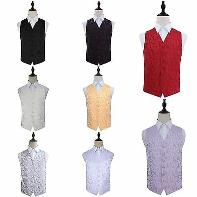 Men's Jacquard Passion Waist Coat - Sorted for Dinner, Wedding, Groom  DQT