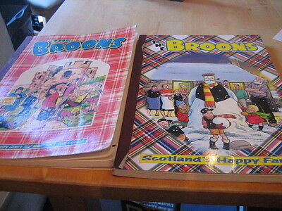 The Broons Annual 1985 and The Broons Annual 2001 (my ref D40)
