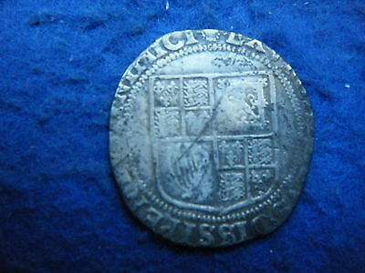 King James I: Silver Shilling - Worn, But A Scarce Coin!