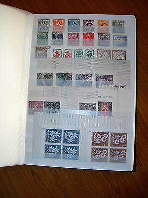 Unmounted Mint French & Spanish Andorre (Andorra) Stamps