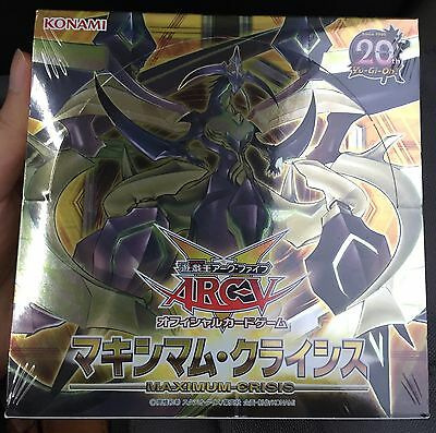 Yugioh Japanese MACR-JP Maximum Crisis Booster Factory Sealed Booster