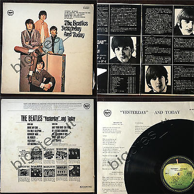 THE BEATLES Yesterday and today JAPAN LP Apple AP-80061