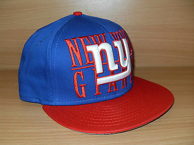 NFL New York Giants 9FIFTY Snapback Cap ONE SIZE ADJUSTABLE