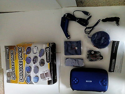 Deluxe Accessory Pack For Nintendo Ds Blue Unused
