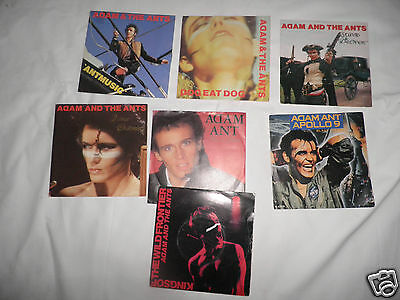 adam and the ants x7 records stand & deliver new wave 80,s pop