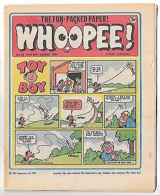 Whoopee! #28 (14th Sept 1974 very high grade) Lone Ranger, Ghost Train