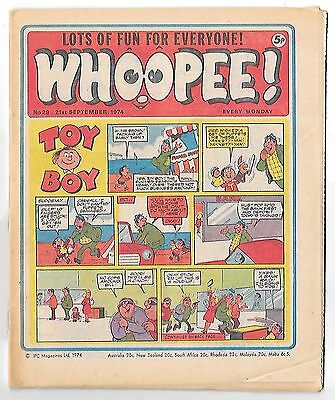 Whoopee! #29 (21st Sept 1974 very high grade) Lone Ranger, Ghost Train
