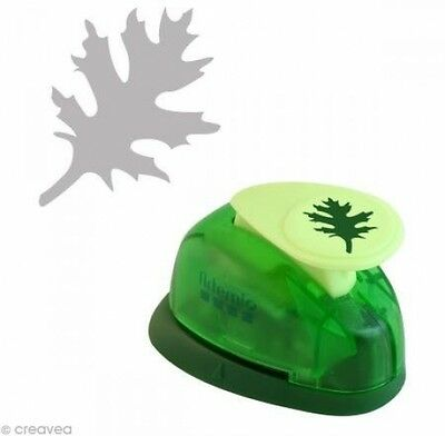 Artemio 1.6 Cm Small Leaf Number 2 Lever Punch, Green