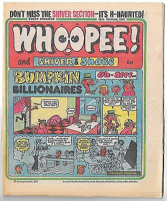 Whoopee! 15th Feb 1975 (very high grade) Frankie Stein, Scream Inn, Spy School