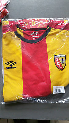Maillot NEUF UMBRO emballé RC LENS taille L