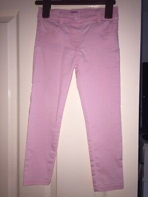 Girls Pink Jeans 4-5years