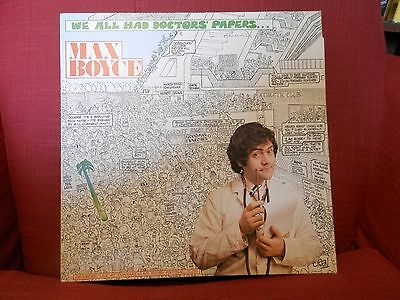 """LP Vinyl Max Boyce """"We all Had Doctors' Papers"""" - live performance from 1975"""