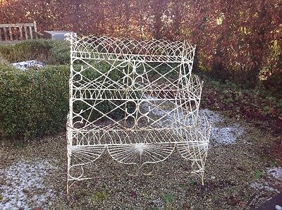 Vintage wire 3tier plant stand