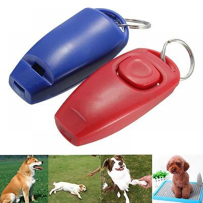 Dog Click Guide Pet Clicker Training Whistle