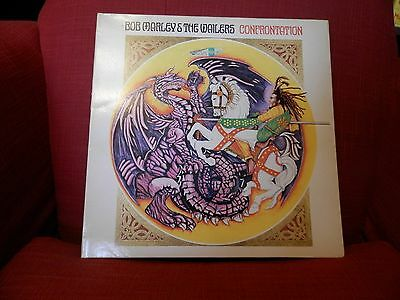 "LP Vinyl Bob Marley and the Wailers ""Confrontation"" from 1983."