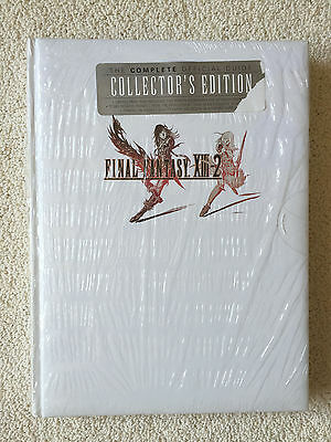 Final Fantasy Xiii-2 Game Guide, Collector's Edition Game Guide Hardcover book