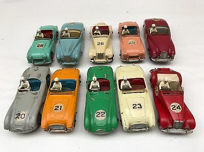 Dinky Toys - Complete Set Of Competition Sports Cars