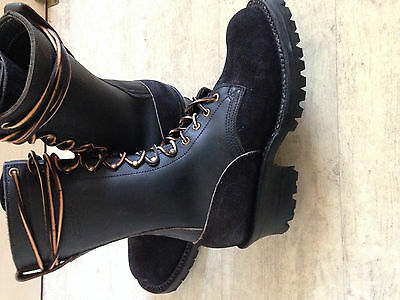 Nick's boots , Rangers , Logger boots ,Work boots  New ,  8,5 EE /taille 43,5/44