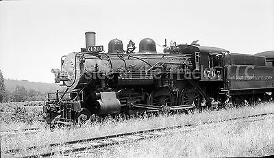 Southern Pacific Steam Locomotives #1707 Original Negative SP Napa Junction
