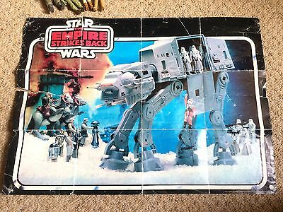 Star Wars Vintage ATAT Empire Strikes Back Toy Catalogue & Poster