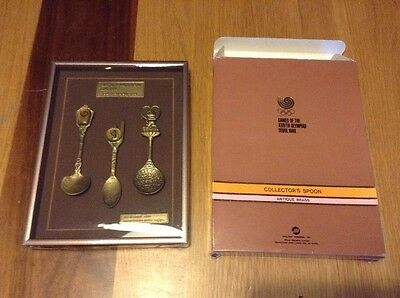 Seoul Olympics Collectors Spoons