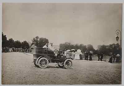 Photo Automobile . Chantilly . Tacot . Cabriolet . 1900