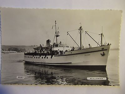 """Postcard Of Steamship """"scillonian - Posted 1962"""