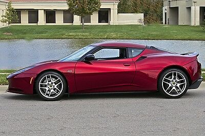 2011 Lotus Evora S Coupe 2+2 2011 Lotus Evora S, Larini Exhaust, Rare Bordeau Red, Immaculate