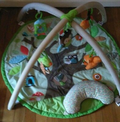 Skip Hop Treetop Friends Baby Activity Gym/ Playmat Excellent Condition