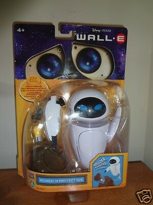 WALL E SEARCH 'N PROTECT EVE Disney Pixar Thinkway Toys Robot Action Figure NEW