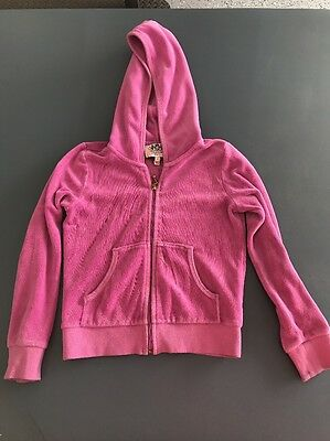Girls Size Small Pink Juicy Couture Jacket Pre Owned
