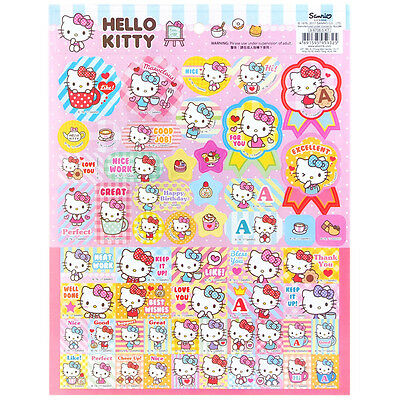 2017 Sanrio Hello Kitty Laser Paper Sticker ~ NEW