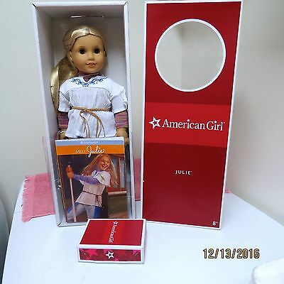 American Girl Retired Classic Julie New Head from Hospital New Outfit NIB Access