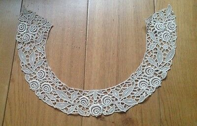 Vintage ladies cotton embroidery collar