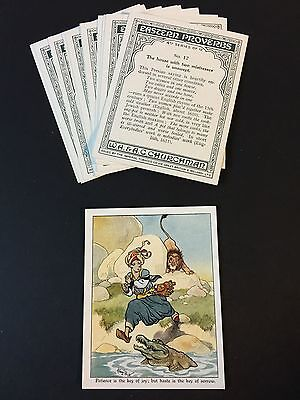 Cigarette Cards & Collectables **Churchman - Eastern Proverbs 4th Set 12**