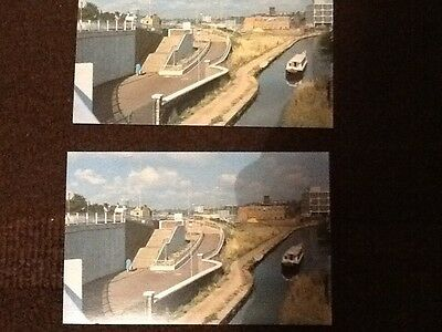 2 Queensway and the Trent & Mersey Canal postcards