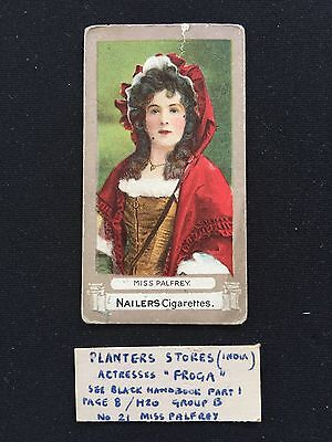Cigarette Cards & Collectables **Nailers Calcutta - Actress**