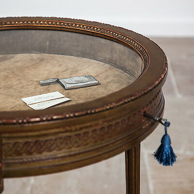 Circular Giltwood Bijouterie Table. Circa 1900. Great Display.