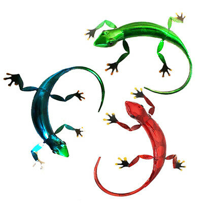 Metal Gecko Wall Art 3 Different Colours To Choose From Wall Hanging Fountasia  sc 1 st  PicClick UK & METAL GECKO WALL Art 3 Different Colours To Choose From Wall Hanging ...