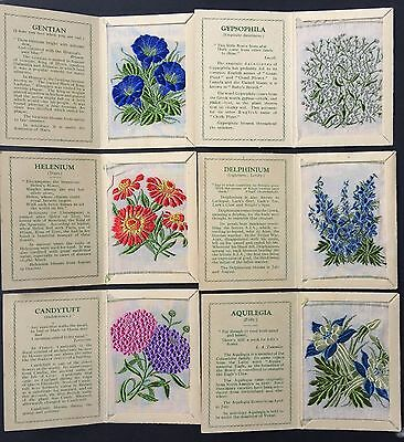 Cigarette Cards & Collectables **6 Kensitas Flowers**