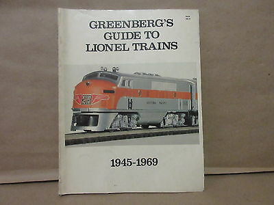 Greenberg's Guide to Lionel Trains Soft Cover 1945-1969 Book Catalog