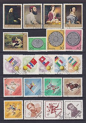 Hungary (3) - Another Good Lot Of 21 Used Stamps - See Scan.
